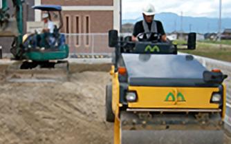 工事はプロの技術で良い品質に仕上がる様、責任を持って作業にかかります。安全管理も怠りません。